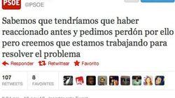 El PSOE, sobre los desahucios: