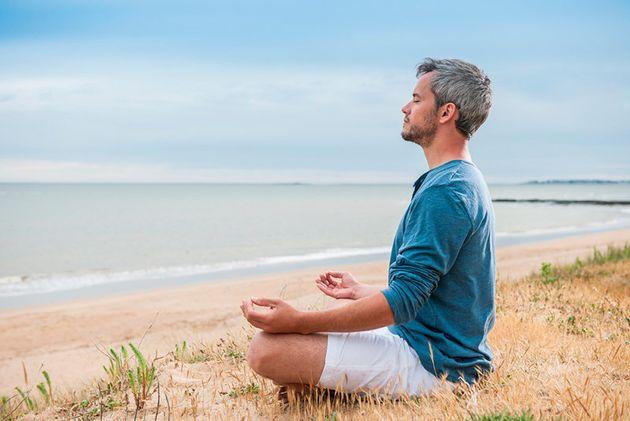 Estírate con yoga después de