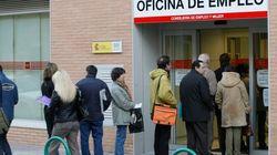 El paro juvenil en España alcanzó el 55,5% en