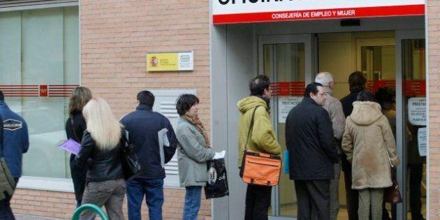 La tasa de paro en España marca otro récord en enero al subir hasta el 26,2%, según