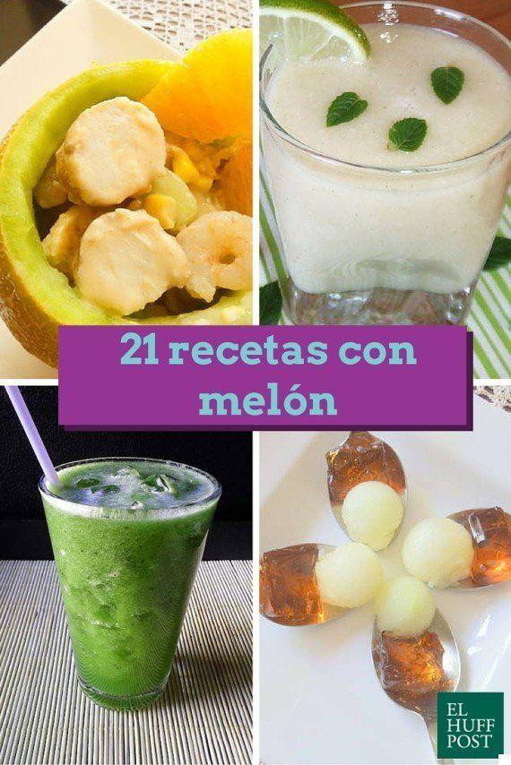 21 recetas con melón para saborear el verano al