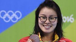 Por qué más deportistas como Fu Yuanhui deberían hablar sobre el tabú de la