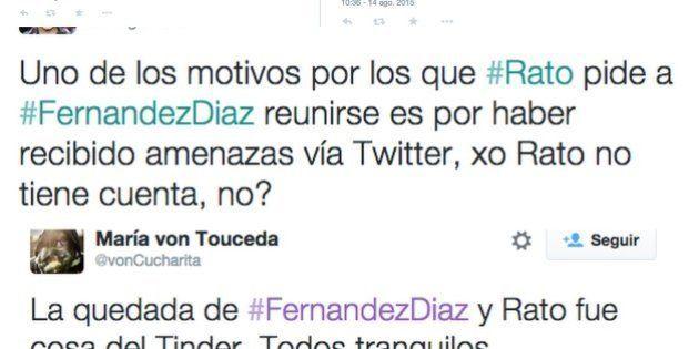 Reacciones en Twitter a la comparecencia de Fernández Díaz por su cita con