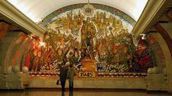 El metro de Moscú como nunca lo habías visto
