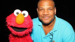 La voz de Elmo, en