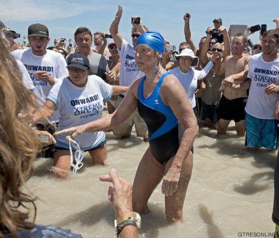 La historia de superación de la nadadora Diana