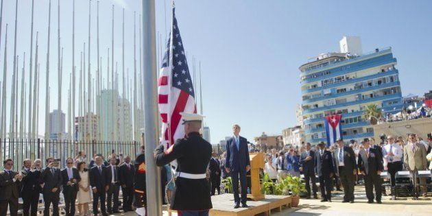 Kerry reabre la embajada de EEUU en La Habana:
