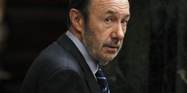 Rubalcaba: el 'caso Bárcenas' destila un