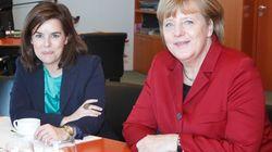 ¿De qué han hablado Merkel y