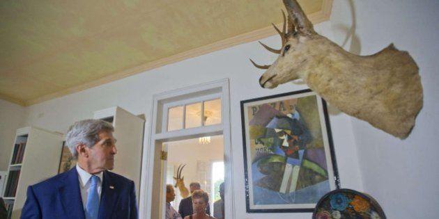 El histórico paseo por La Habana de John Kerry