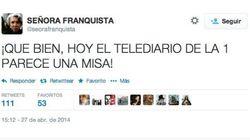 Críticas al Telediario de TVE por su cobertura de las canonizaciones