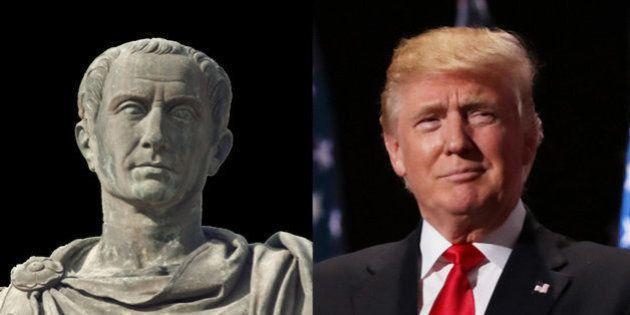 Roma tenía al César, Estados Unidos tiene a Trump: la gente estaba y está