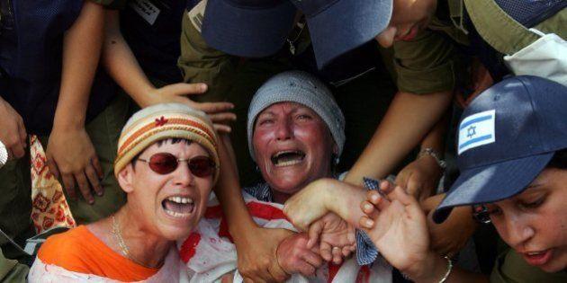 10 años después de la retirada de Gaza, la sociedad israelí aún la