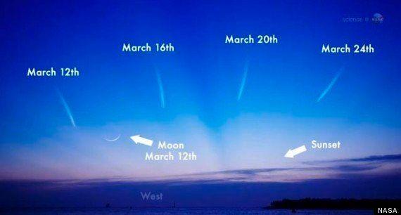 El cometa PanStarrs podrá verse a simple vista desde el 12 de