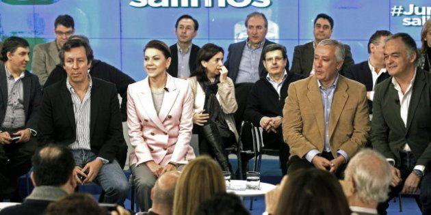 Cospedal defiende la cercanía de los políticos y justifica la ausencia de Rajoy en el foro 'Juntos