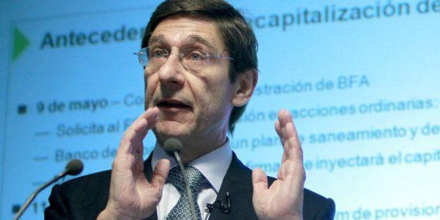 Bankia obtiene 250 millones de euros en el primer trimestre, un 17,4% más que el año