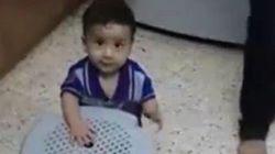 Este es Ali, el bebé palestino quemado vivo, cuando aprendía a andar