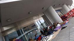 15 días acampadas en la calle en Madrid para ver a Justin Bieber