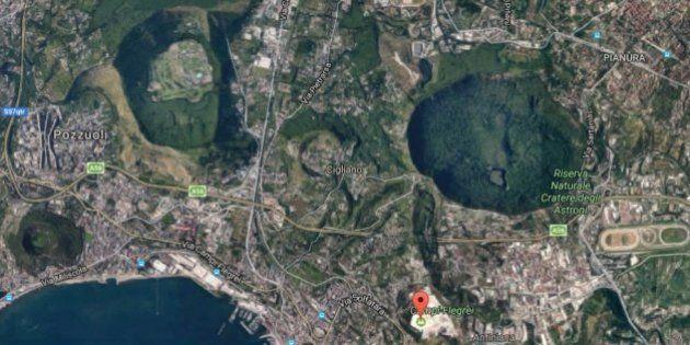 El volcán de Nápoles sobre el que viven 50.000 personas se