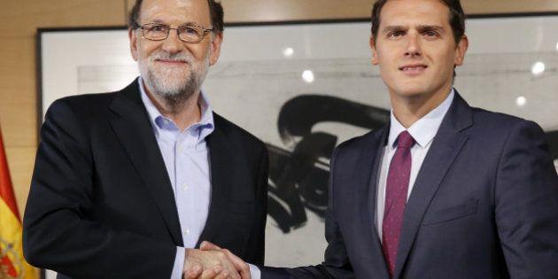 Rajoy acepta las condiciones de Ciudadanos y da