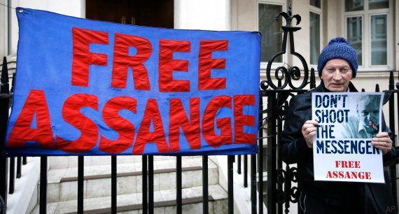 Los expertos de la ONU dan la razón a Assange y piden su puesta en