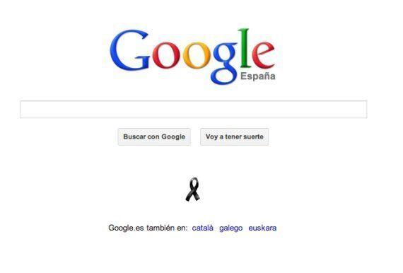 Lazo negro en Google: el buscador recuerda el aniversario del 11M
