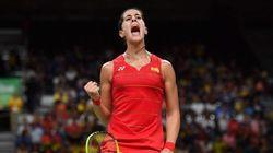 Carolina Marín asegura otra medalla para España al clasificarse para la final de