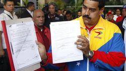 Maduro presenta su candidatura:
