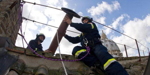 La chimenea del Vaticano: en el centro de las miradas de los católicos de todo el