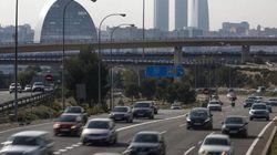Madrid limita desde las 06:00 horas la velocidad por contaminación en los