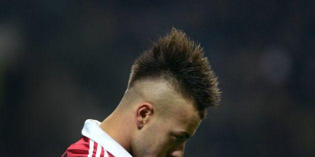 Cortes de pelo de futbolistas del Milan: la otra atracción del partido frente al Barça