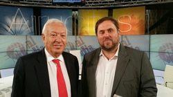 Margallo y Junqueras debaten sobre la independencia