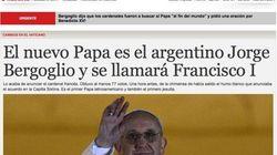 Las portadas saludan a Francisco