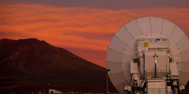 El telescopio más grande del mundo: ALMA está en el desierto de Atacama y es la segunda construcción...