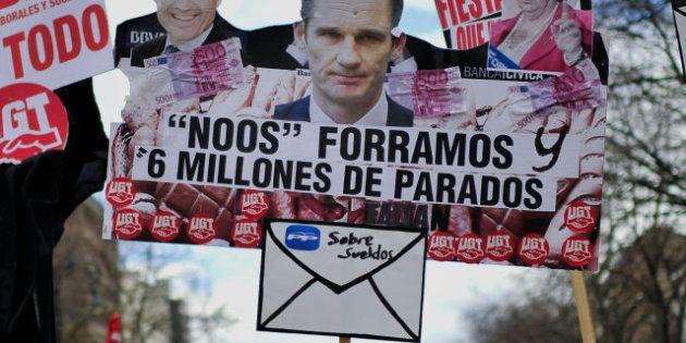 El juez confirma la fianza de 8,2 millones a Iñaki