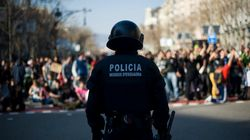 Los antidisturbios en Cataluña, con la 'matrícula'