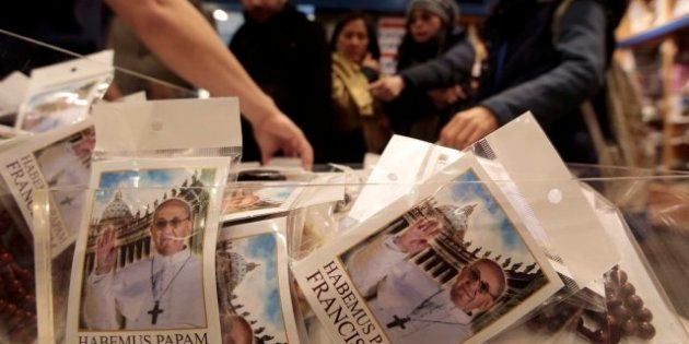 'Souvenirs' del papa Francisco: ya están listos