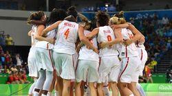 La selección femenina de baloncesto, finalista de los Juegos de