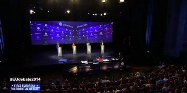 Los candidatos europeos celebran un debate de guante
