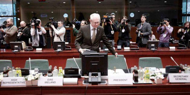 Herman Van Rompuy, presidente del Consejo Europeo, abandonará el cargo y la política en