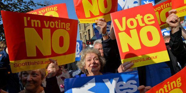 El 'no' ganaría con el 47,6% de los votos en el referéndum de Escocia, según un sondeo del 'Daily