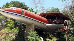 Un avión Boeing reconvertido en hotel de lujo y otros 9 extraños alojamientos