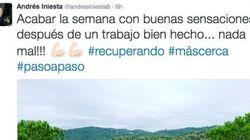 Las respuestas de Ramos y Piqué a este tuit de