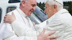 Francisco y Benedicto XVI se reúnen: