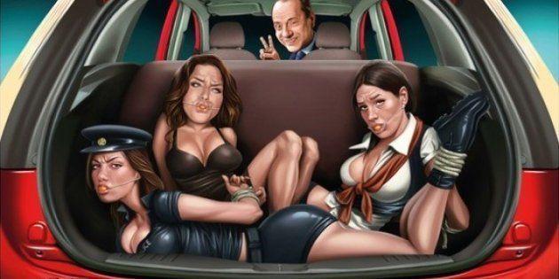 Berlusconi se convierte en el protagonista de un polémico anuncio de Ford
