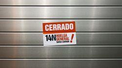 En directo, Huelga General 14-N (VÍDEOS, FOTOS,