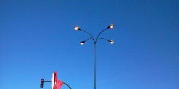 Huelga general 14-N: Farolas encendidas para aumentar el consumo de