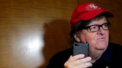 Michael Moore trata de hablar con Trump y el servicio secreto se lo