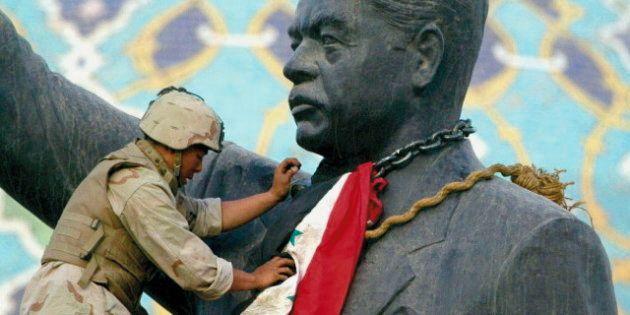 El soldado que ayudó a derribar la estatua de Sadam Husein en Irak duda ahora del objetivo de la
