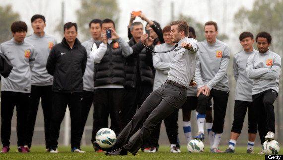 David Beckham: tatuaje con proverbio chino